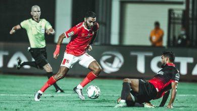صورة حسين الشحات يسجل الهدف الثاني في مرمى الوداد