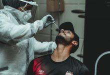 صورة مسحة طبية للاعبي الأهلي استعدادا للمقاولون