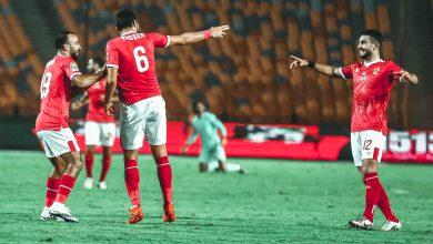 صورة الأهلي يفوز على أبوقير ويتأهل لنصف نهائي كأس مصر