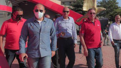 صورة الخطيب يقوم بجولة تفقدية بفرع مدينة نصر.. والانتهاء من الجراج خلال ٦ أشهر