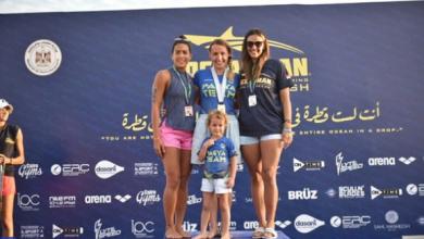 صورة بالصور.. مصر تستضيف مسابقة ocean man للسباحة للمرة الأولى في أفريقيا