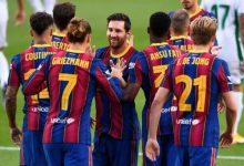 صورة مدافع برشلونة يقترب من البريمير ليج