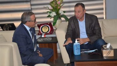 صورة تفاصيل جلسة محمود الخطيب مع رئيس اتحاد الكرة في الجبلاية اليوم