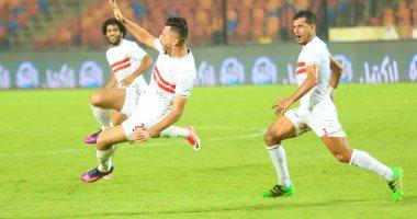صورة التعادل الإيجابي يحسم الوقت الأصلي لمباراة الزمالك ونادي مصر