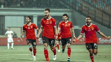 صورة عمرو السولية يسجل الهدف الأول للأهلي أمام الزمالك في نهائي إفريقيا