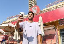 صورة الأهلي يحتفل بعيد ميلاد طاهر محمد طاهر