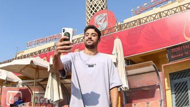 صورة طاهر: أتمنى إسعاد جماهير الأهلي.. وفخور بوجودي في نادي القرن