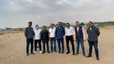 صورة الخطيب يتفقد الإنشاءات في مدينة نصر.. وافتتاح الجراج نهاية مايو