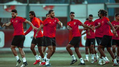 صورة الجهاز الفني يُركز على تدريبات الكرة في مران اليوم