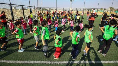 صورة الأهلي ينظم مهرجانًا تعريفيًّا بألعاب القوى للأطفال