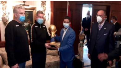صورة مدير مونديال اليد: لاعبو منتخب مصر في حالة نفسية مرتفعة قبل البطولة