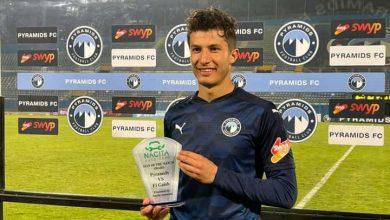 صورة أسامة جلال أفضل لاعب في مباراة بيراميدز والطلائع