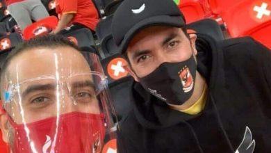 صورة مباشر   أبوتريكه يشعل مدرجات ملعب الريان قبل مباراة الأهلي وبايرن ميونخ