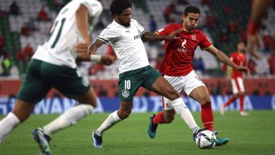 صورة شوط أول سلبي.. الأهلي يهدد مرمى بالميراس والشناوي ينقذ المارد الأحمر في كرة وحيدة