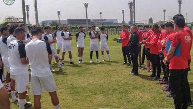صورة مران المنتخب الأولمبي مفتوح للإعلاميين غدا