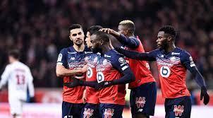 صورة ليل يفوز على باريس في الدوري الفرنسي